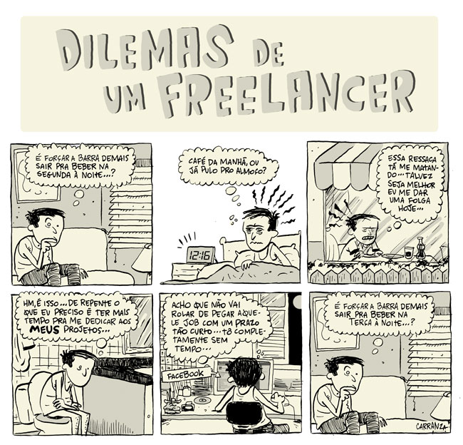 Dilemas de um freelancer