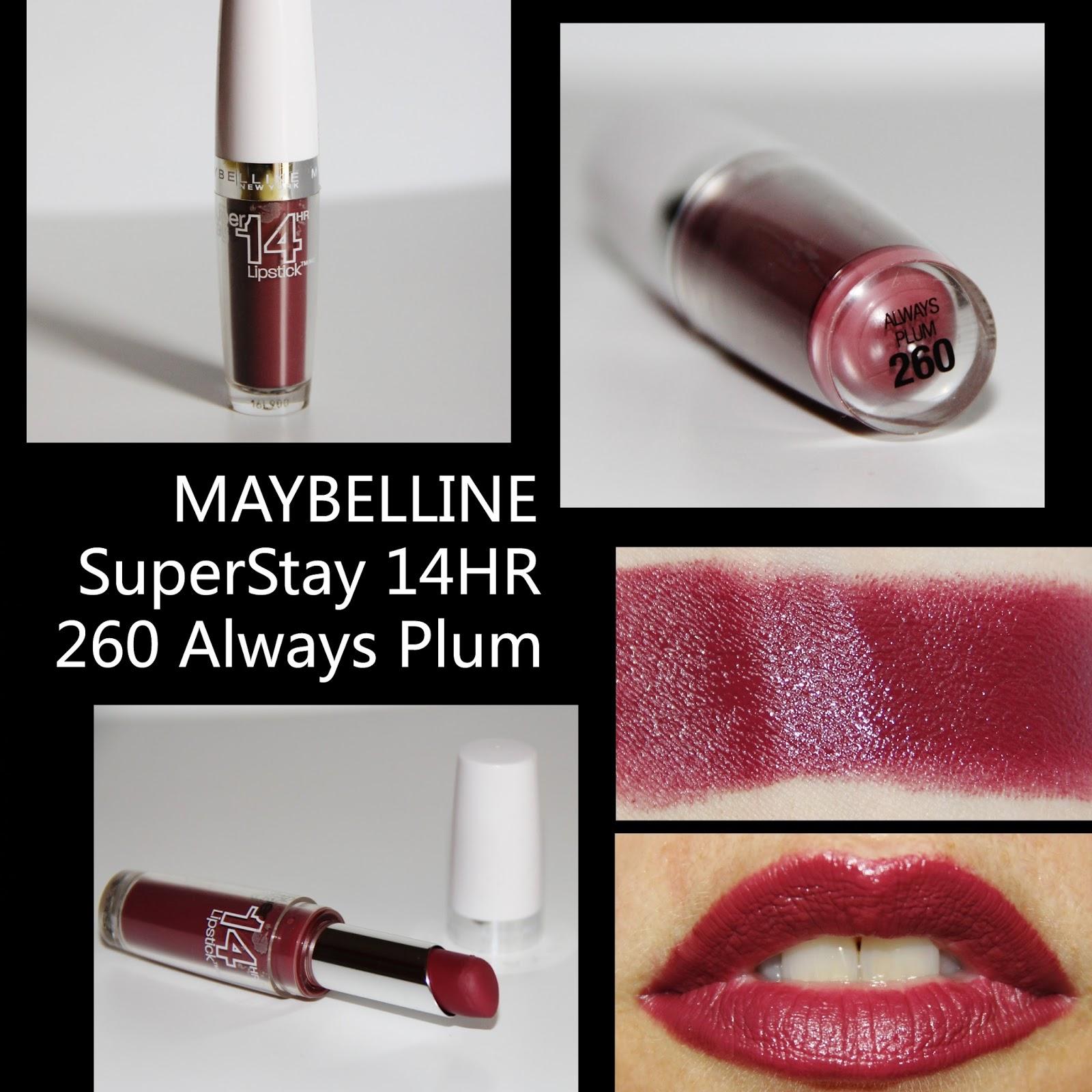 Maybelline plum lipstick