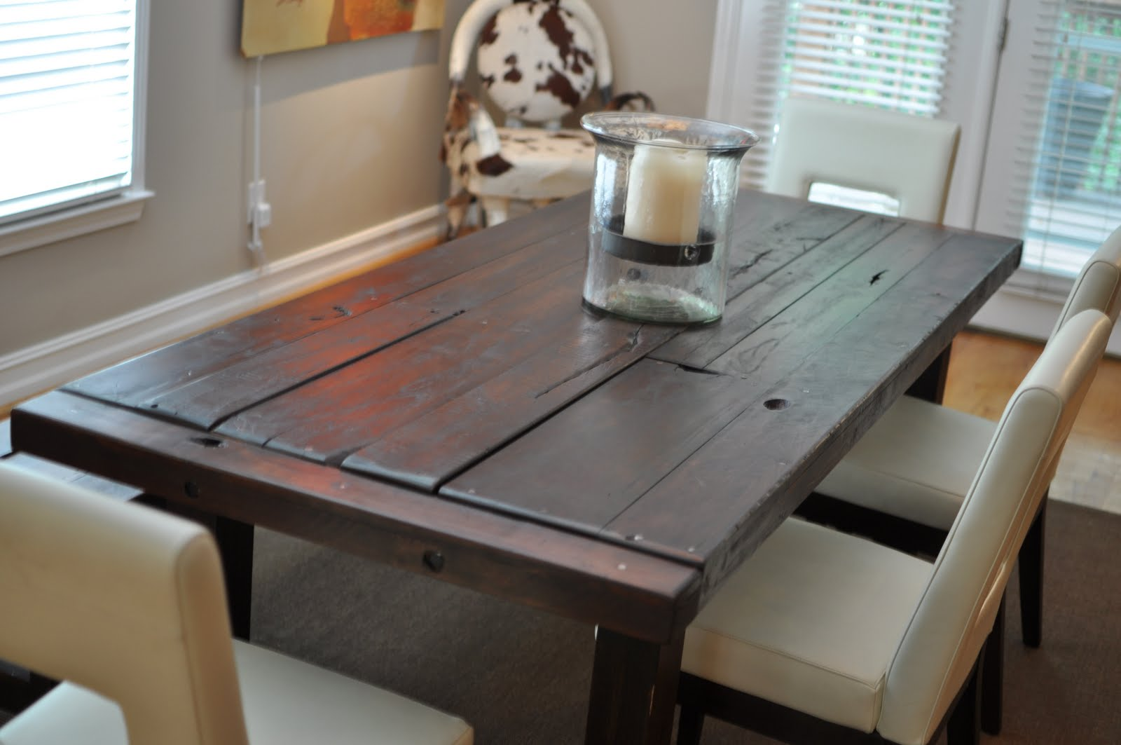 The Clayton Dining Table | Atlanta Georgia | Rustic Trades Furniture