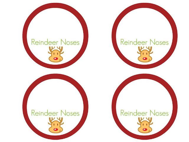 Beautifully Organised Free Printable Christmas Reindeer