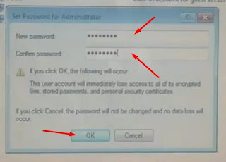 Isi password yang mudah diingat