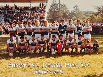 Aurora X Juniores Inter 1985