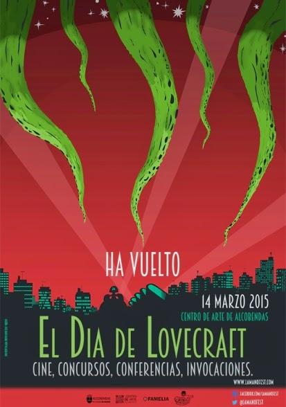 Lovecraft es invocado el próximo 14 de marzo de 2015