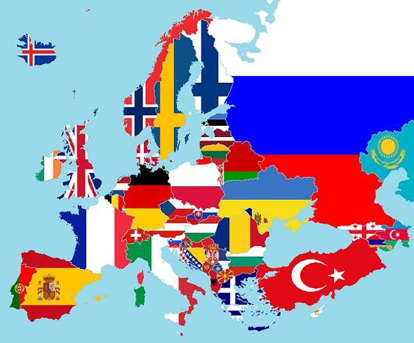 24 negara peserta kompetisi sepakbola euro 2016 di prancis