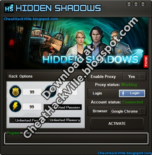 Hidden Shadows Silver Hack Cheat