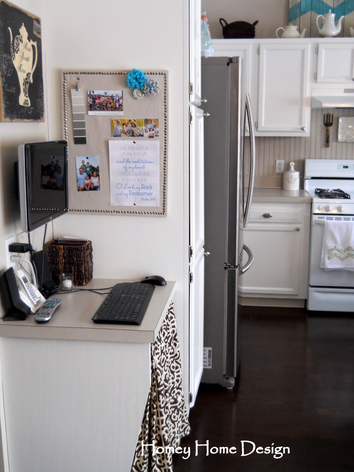 Kitchen Message Board Homey Home Design The Kitchen Reveal