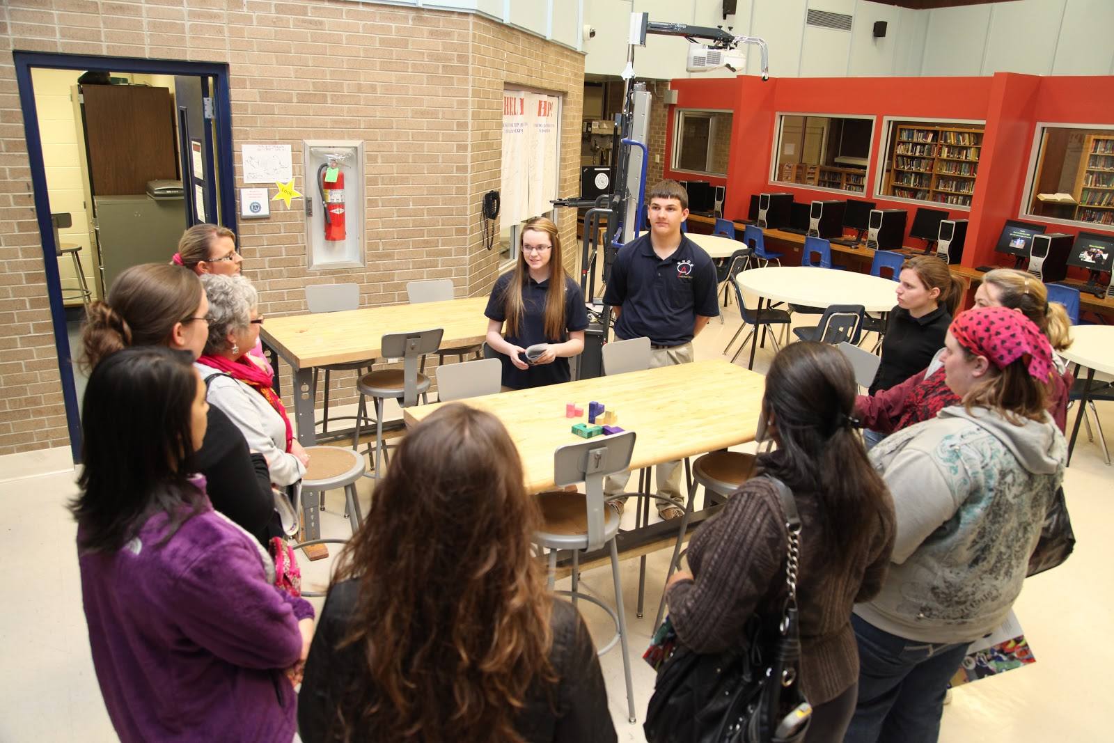 AHS New Tech ambassadors reflect on Business After Hours