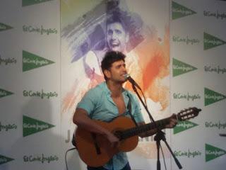 Jaime Valentín Presentado su disco el Despertador en el Corte Ingles