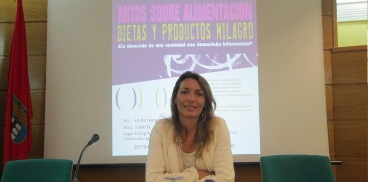 Ana isabel guti rrez salegui la conferencia sobre dietas for Salamanca 24 horas