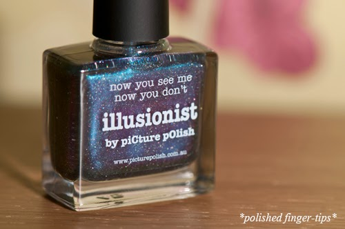 "Picture Polish ""Illusionist"" - artificial light"