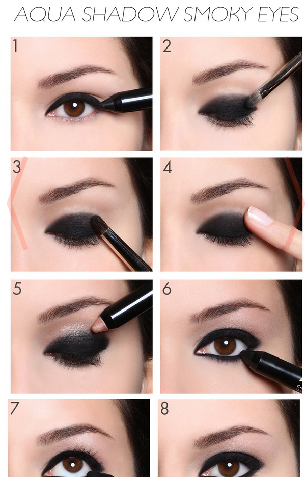 Smokey Eyes Makeup Tutorial Fashion