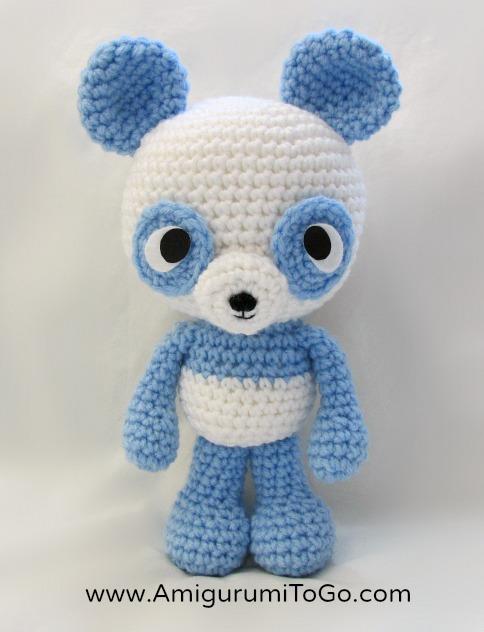 Amigurumi Bigfoot Bear : Panda Amigurumi Free Pattern ~ Amigurumi To Go