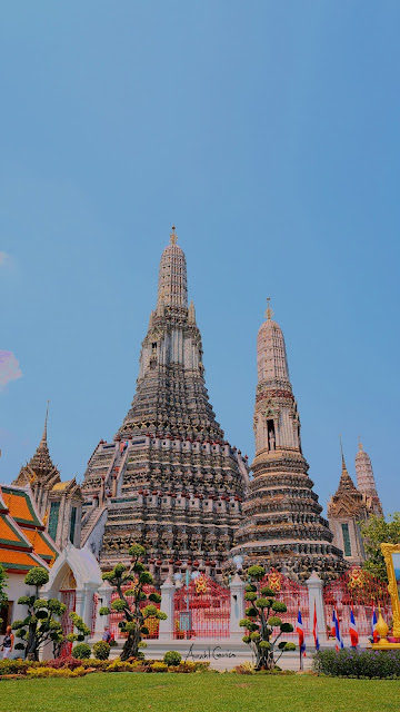 HDR Painting of Wat Arun