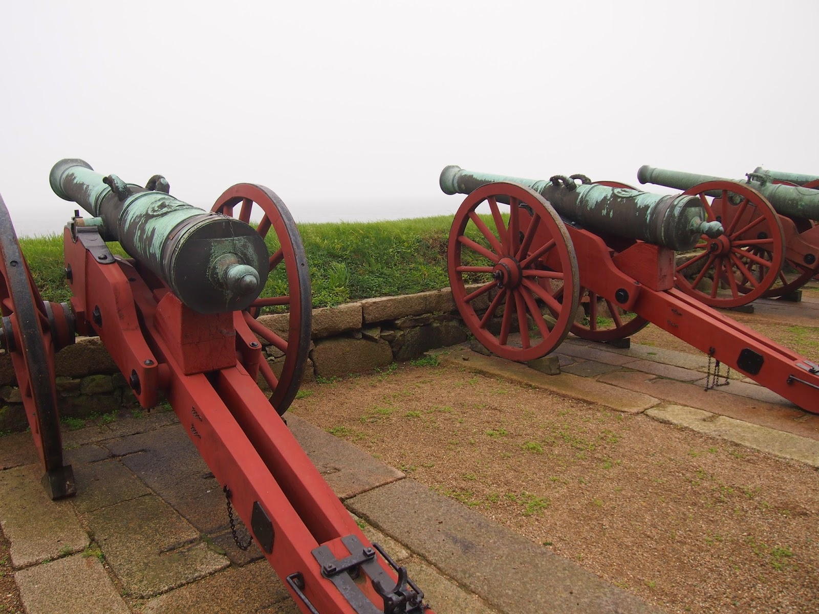 cannons at the Helsignor castle