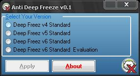 Anti Deep Freeze