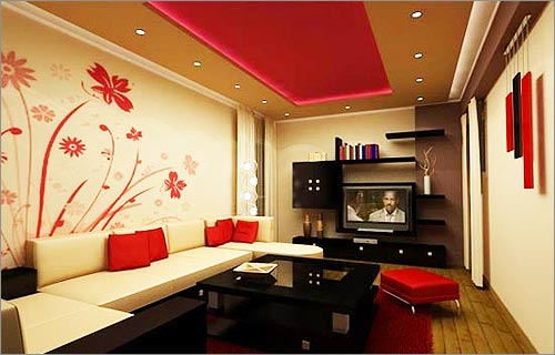 Modern homes wall paint colours ideas. | Modern Home Designs