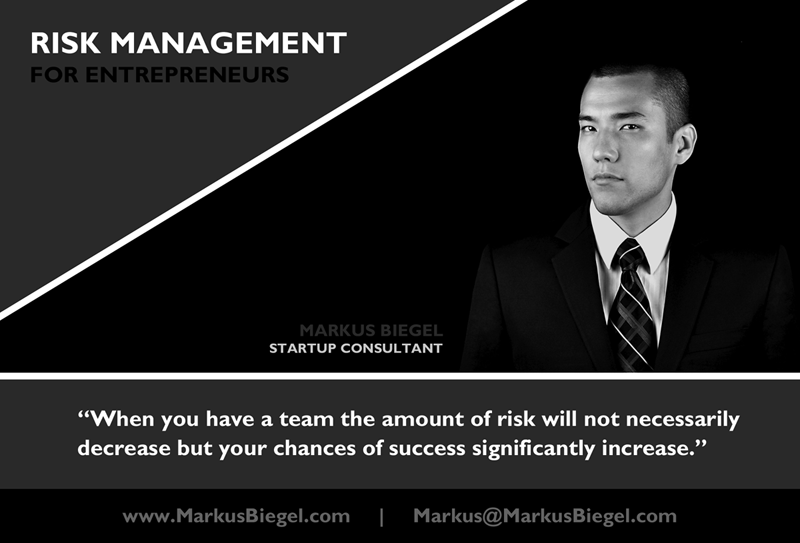Markus Biegel, Risk Management