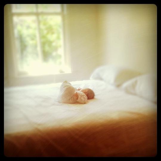 Baby Girl On The Big Bed Love Tazalove Taza
