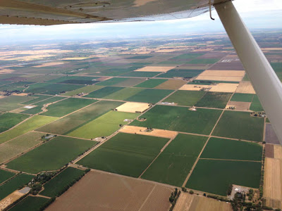 Fly Girl in Training: Birthday av gas, wind corrections, and faux emergencies