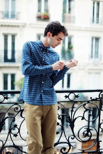 Bérangère Claire chemise homme Mondorff