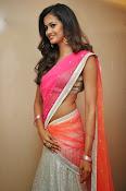 Shubra Aiyappa glamorous in half saree-thumbnail-4