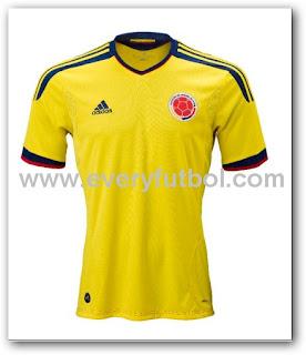 Sorteo de la camiseta adidas de la selección Colombia 2011