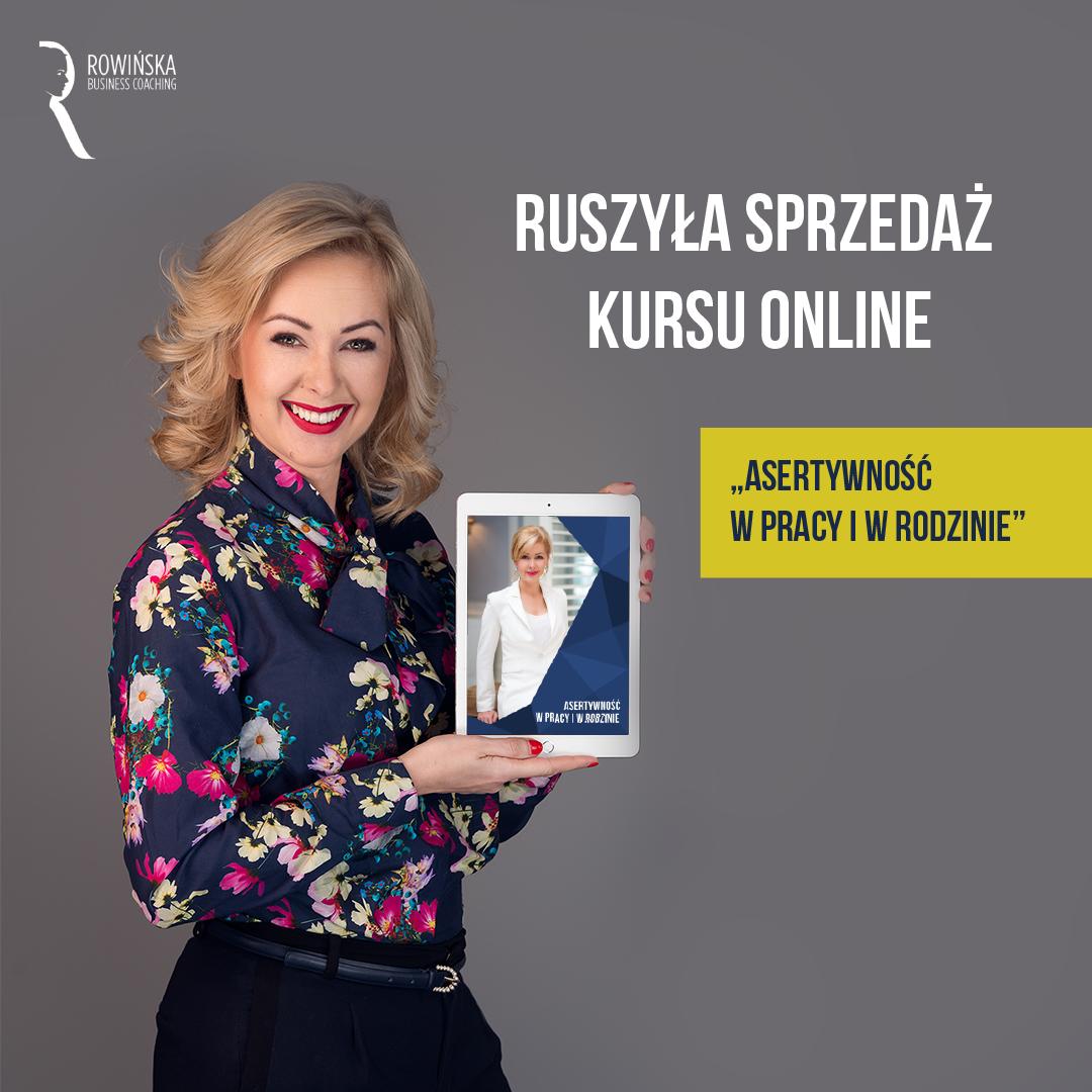 Kurs o asertywności u Kamili Rowińskiej