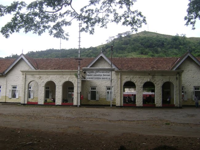 Badulla Is The Terminus Of The Main Line In Sri Lanka Railways