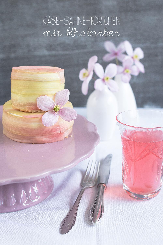Rhubarb Cheesecake | seelenschmeichelei.blogspot.com