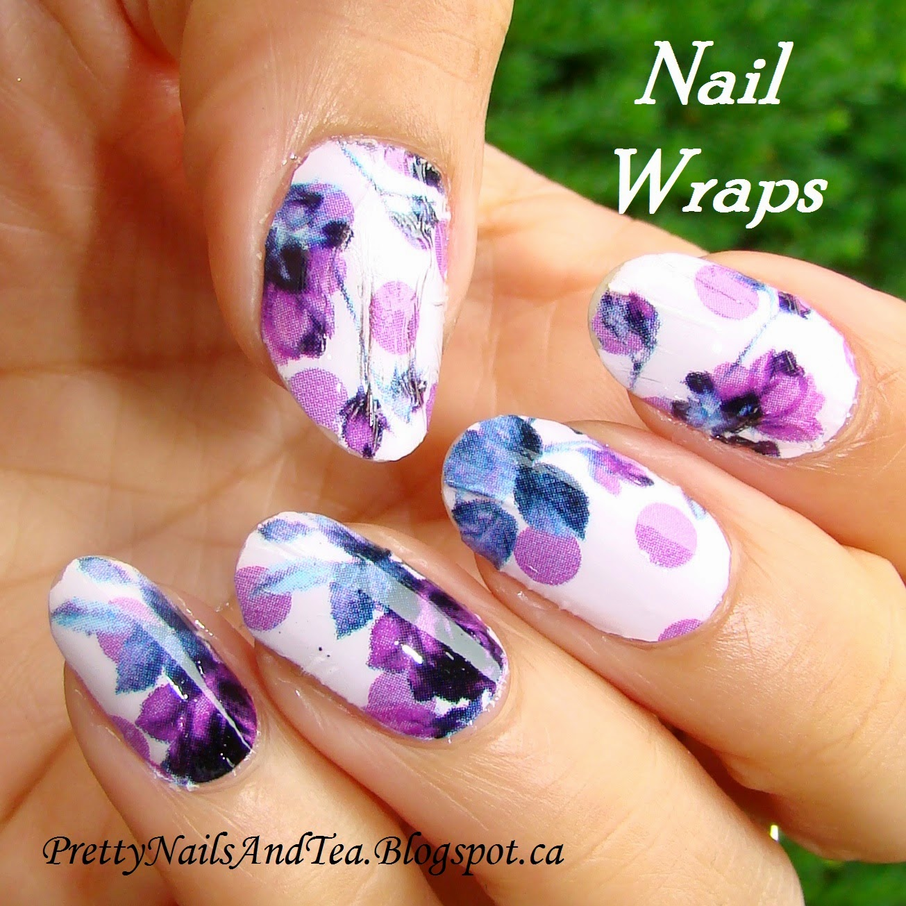 Nail Wrap Review | PrettyNailsAndTea.blogspot.ca