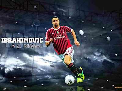 Zlatan Ibrahimovic A.C. Milan HD Wallpapers