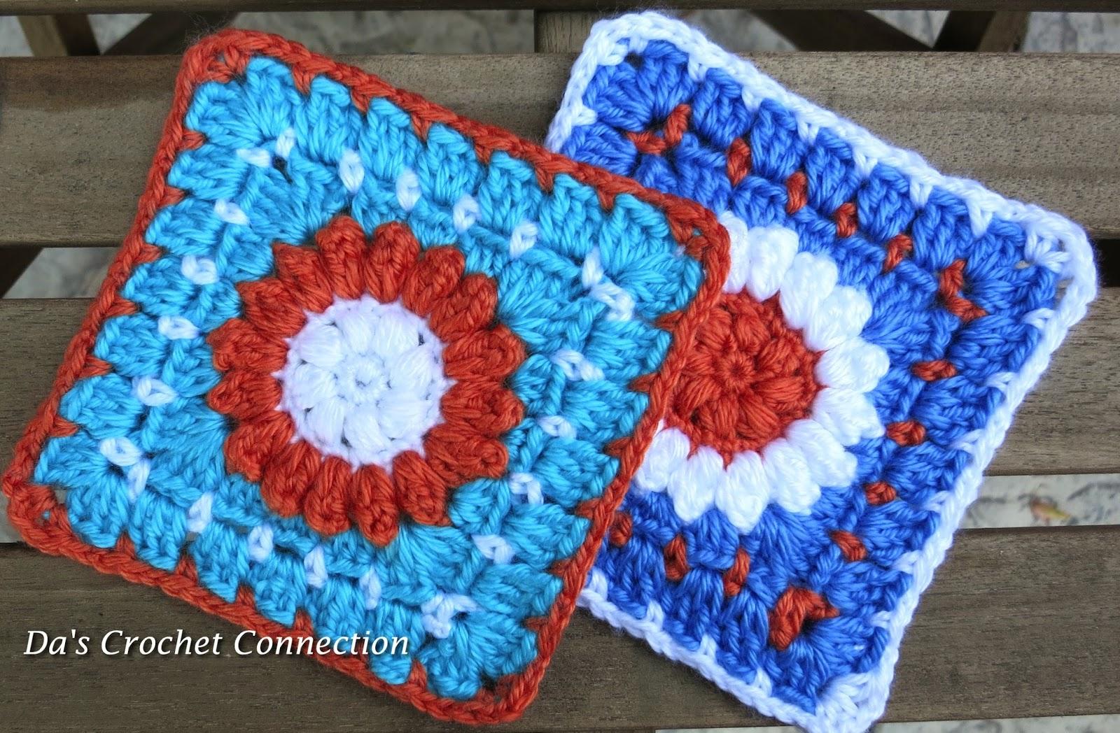 Da\'s Crochet Connection: Mystery Lapghan Crochet-A-long Square