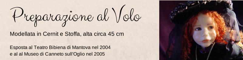 Strega by Celidonia Daniela Messina - doll ooak in pasta sintetica