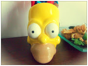 I've got Homer Simpson on my (right) side! Just a quick peak at my desk. :)