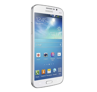 samsung galaxy mega white 6.3-inches smartphone front display 2