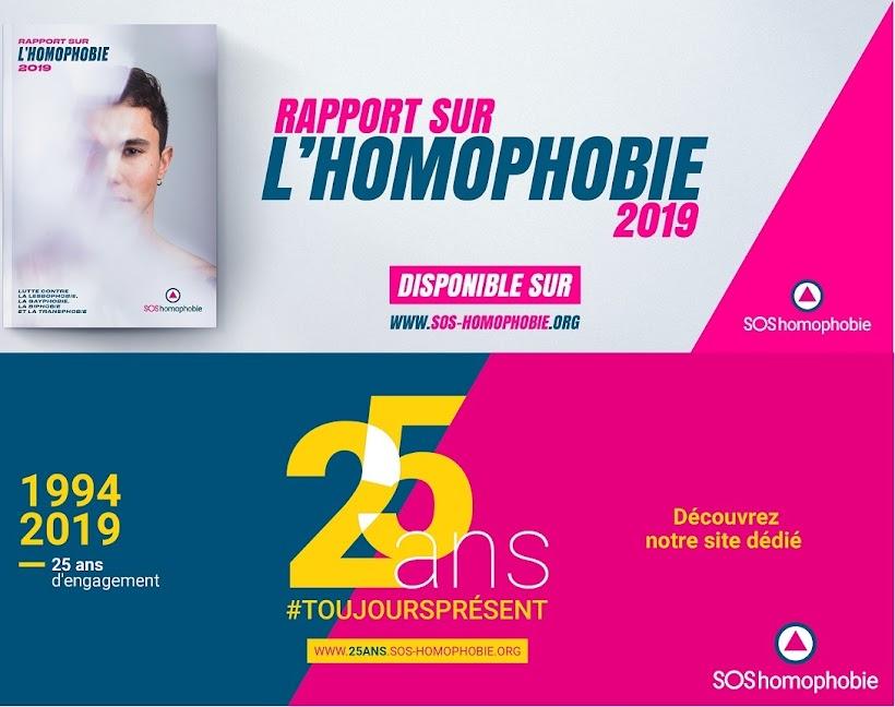 11 avril 1994 - 11 avril 2019 , SOS homophobie faite ses 25 ans