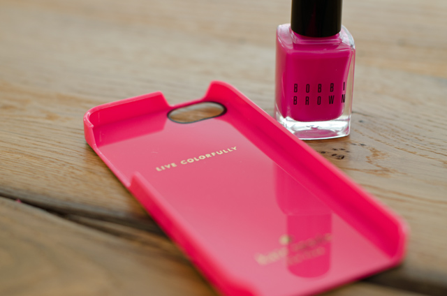 Bobbi Brown Pink Valentine and Kate Spade iPhone Cover