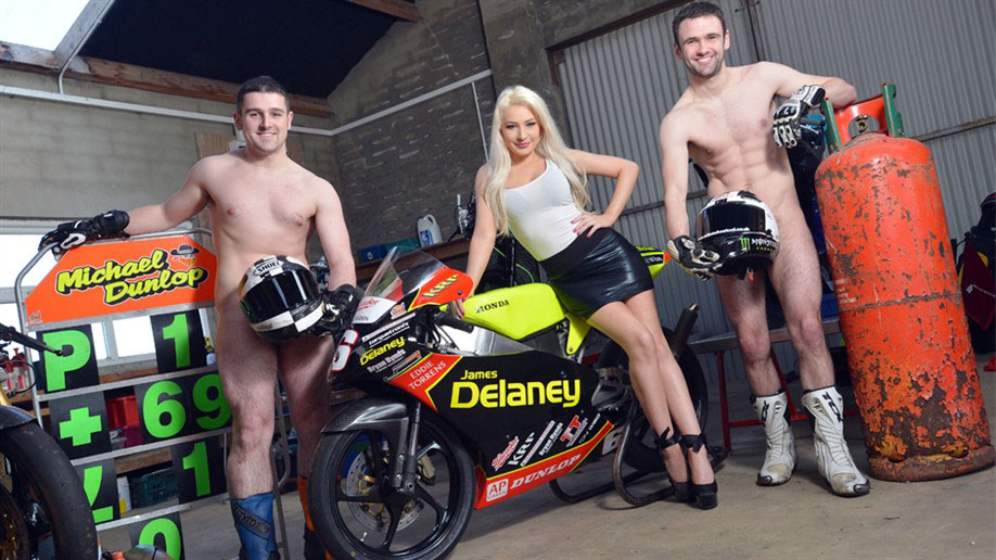 Dunlop Brothers Strip Down To Fight Testicular Cancer Yellow Biker