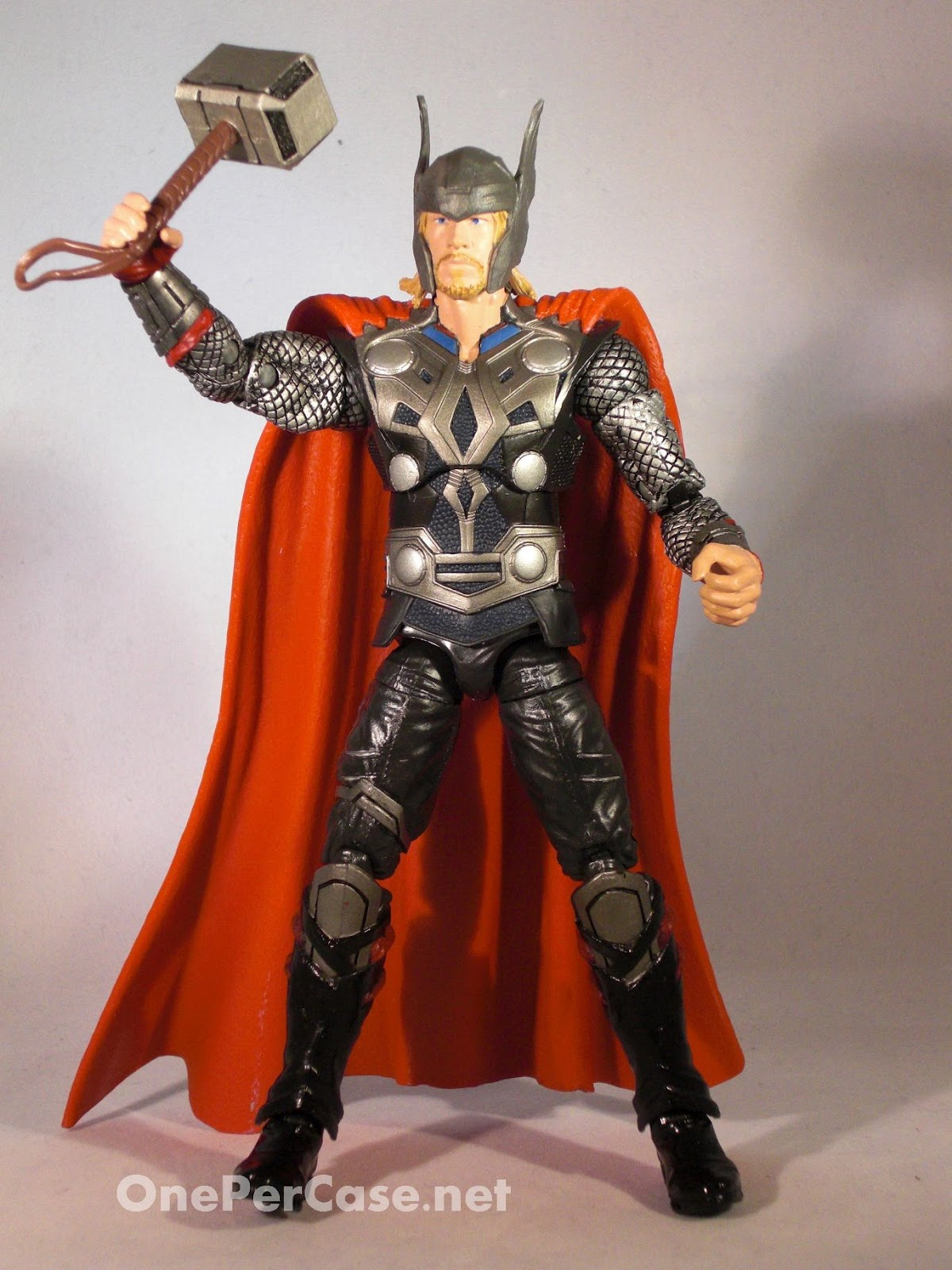 one per case  hasbro thor  the mighty avenger 6 inch movie figure