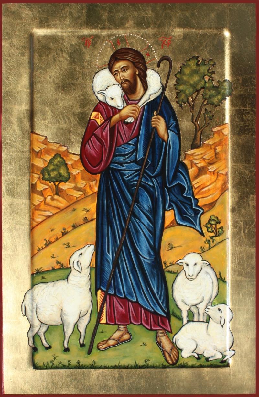 Znalezione obrazy dla zapytania Dobry Pasterz ikony