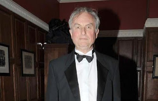 Dawkins dressed as a penguin