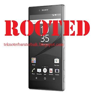 Cara Root Sony Xperia Z5