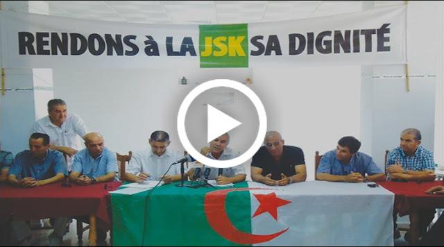 VIDÉO. Réunion du comité de sauvegarde de la JS Kabylie