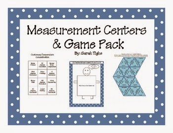 Measurement Games and Centers Pack