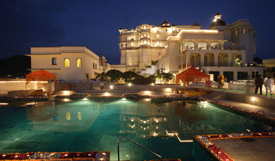 Pool at Devigarh, Udaipur