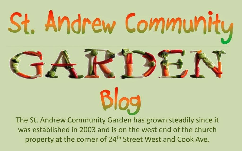 St. Andrew Community Garden Blog