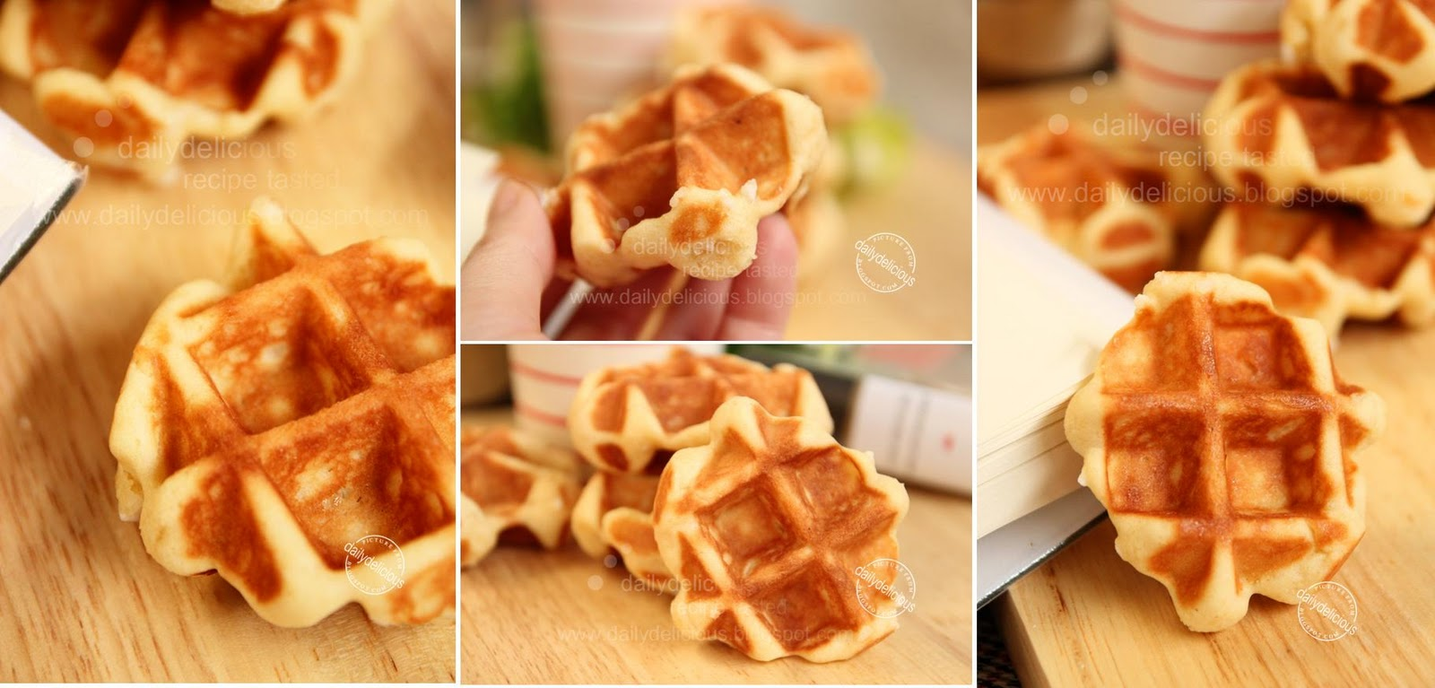 ... waffle: No need to knead, and you still get a delicious waffle