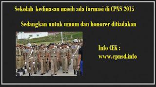 formasi khusus kedinasan cpns 2015