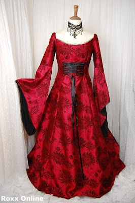 Wedding Dress on Black And Red Wedding Dress 7 Jpg