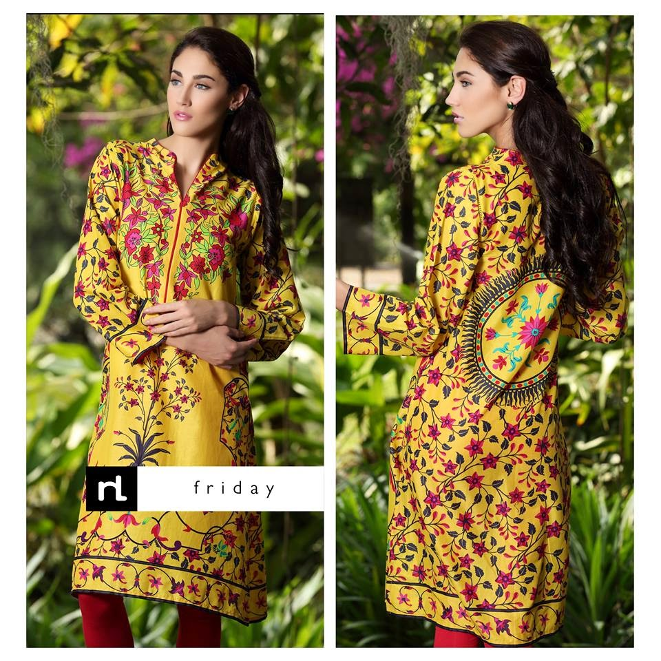 Nisha Fabrics Women Summer Dresses 2015 by Nishat Linen